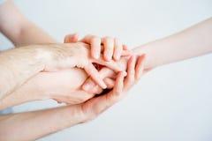 Pile des mains image libre de droits