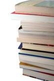 Pile des manuels d'université Photo stock