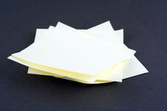 Pile des messages Image stock