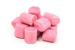 Pile des morceaux de bubble-gum Photos stock