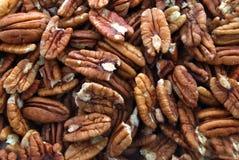Pile des noix de pécan photo libre de droits