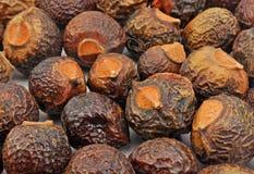 Pile des noix de savon photographie stock