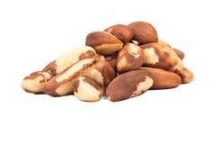 Pile des noix du brésil photo libre de droits