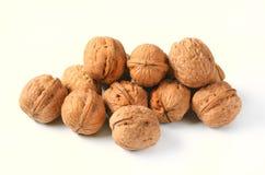 Pile des noix entières photo libre de droits