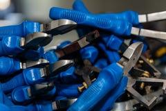 Pile des outils Photos stock