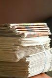 Pile des papiers Images libres de droits