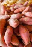 Pile des patates douces Images libres de droits