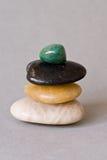 Pile des pierres photo stock