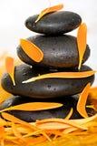 Pile des pierres Image stock