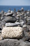 Pile des pierres Photographie stock libre de droits