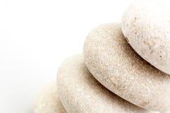 Pile des pierres de sable photos stock