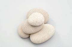 Pile des pierres de sable images libres de droits