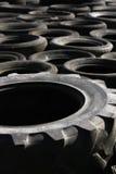 Pile des pneus jetés (1) Photographie stock libre de droits