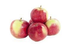 Pile des pommes Photographie stock libre de droits