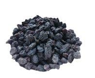 Pile des raisins secs noirs Photos libres de droits