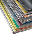 Pile des revues Photographie stock libre de droits