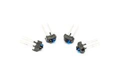 Pile des sondes optiques réfléchies infrarouges Photo stock