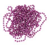 Pile des sphères de perle de decorational Images libres de droits