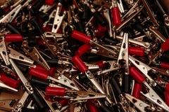 Pile des tondeuses électriques Image libre de droits