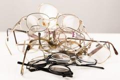 Pile des verres d'oeil Photos libres de droits