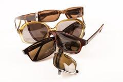 Pile des verres de soleil Image stock