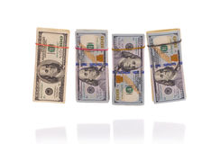 Pile di contanti Immagini Stock