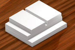 Pile di documento Modello alla presentazione Fotografia Stock Libera da Diritti