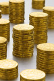 Pile di dollari australiani Fotografie Stock