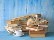 Pile di libri Fotografie Stock Libere da Diritti