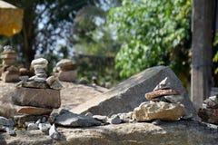 Pile di pietre Immagine Stock Libera da Diritti