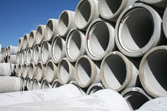 Pile di tubi di acqua Fotografie Stock Libere da Diritti