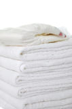Pile of Diapers Royalty Free Stock Photography