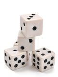 Pile of dice Royalty Free Stock Images
