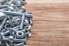 Pile of different screws Stock Photography
