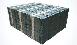 Pile Dirham Bank Notes Royalty Free Stock Image
