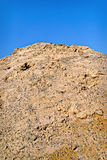 Pile of Dirt and Gravel Stock Image