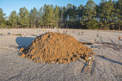 Pile of dirt. Stock Photography