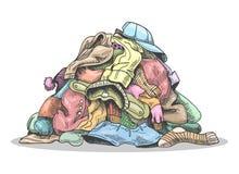 Laundry Pile Stock Illustrations – 1,090 Laundry Pile ...