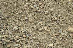 A pile of dirty stones background Stock Image
