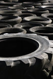 Pile of discarded tyres (1) Royalty Free Stock Photography