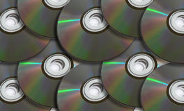 Pile Of Discs Royalty Free Stock Photography