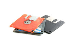 Pile diskette Royalty Free Stock Image