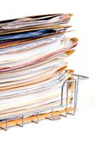 Pile of document Stock Photo