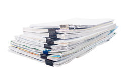 Pile of document Stock Photo