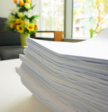 Pile of document Stock Photos