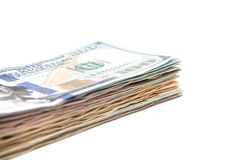 Pile of dollar notes Royalty Free Stock Photos