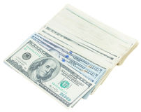 Pile of dollars money Stock Photography
