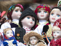 Pile of Dolls Royalty Free Stock Image