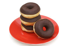 Pile of donuts. Stock Photos