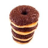 Pile of donuts Stock Photos